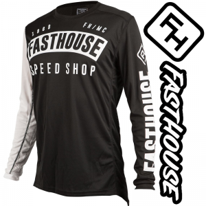 Maillot Fasthouse Block Noir