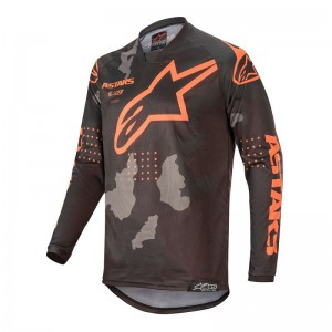 Alpinestars racer tactical Orange Gris et Noir 2020