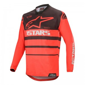 Alpinestars Racer Supermatic Noir et Rouge 2020