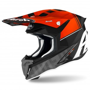 Casque Airoh TWIST Rouge Gloss 2021