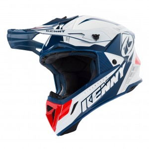 Casque Kenny Trophy Navy/Blanc/Rouge 2020