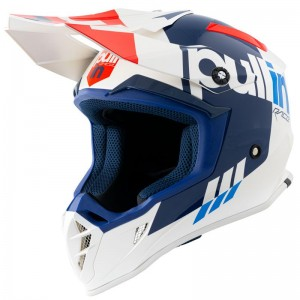 Casque Pull-In Solid Blanc/Rouge
