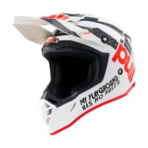 Casque Pull-In Trash Blanc/Noir/Rouge