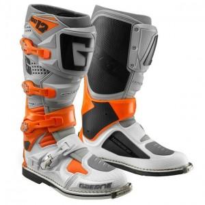 Bottes Gaerne SG12 Orange Gris Blanc