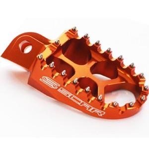 Repose-pied-SCAR-KTM-orange