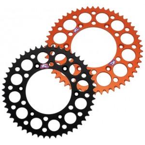 Couronne-Renthal-anti-boue-Noir-ou-orange-pour-SX/SXF