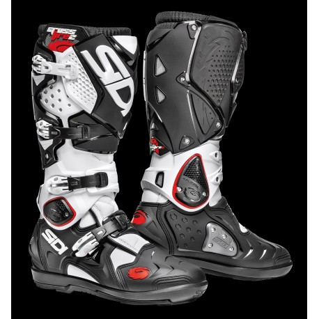 bottes sidi crossfire 2 srs blanc noir mfire2srsbin bottes sidi champion accessoires. Black Bedroom Furniture Sets. Home Design Ideas