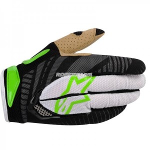 Gants-ALPINESTARS-Techstar-Green/Black