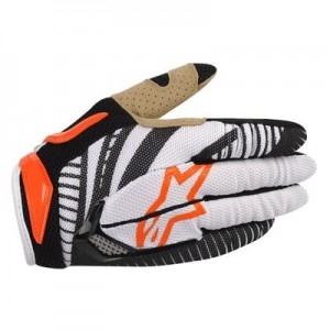 Gants-ALPINESTARS-Techstar-Orange/Black-Taille-L