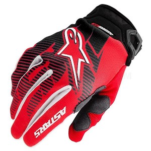 Gants-ALPINESTARS-Racer-2013-Red/Black