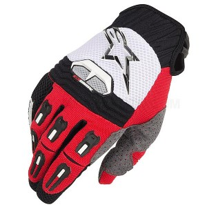Gants-ALPINESTARS-Techstar-Red/Black