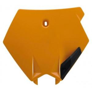 Plaque de numéro orange SX SXF 07-11
