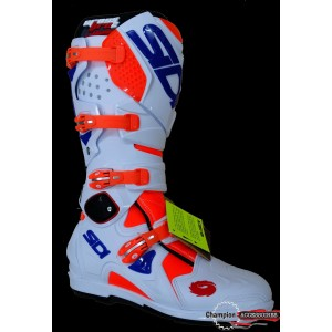 Botte Sidi SRS 2 White Fluo orange