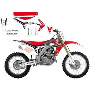 Kit Déco Replica 2014 Blackbird Honda Hrc Crf250/450