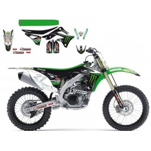 Kit Déco Complet Blackbird Dream Graphic Iii Kawasaki Kx-F250 13/14