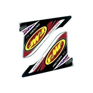 Sticker d'échappemetnt FMF Factory 4.1 rouge