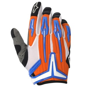 Gants ALPINESTARS Charger Orange/Blue/Black