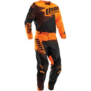 Tenue Thor Phase Gasket Fluo Orange Noir