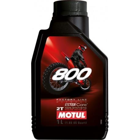 Huile-2T-Motul-800-1-Litre-100%-Synthèse