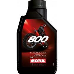 Huile 2T Motul 800 1 Litre 100% Synthèse