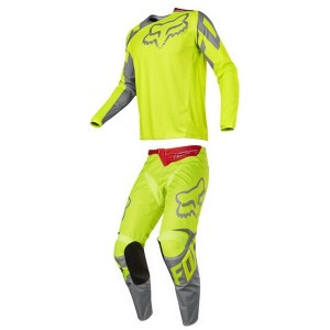 Tenue Fox 180 Nirv Grey Yellow