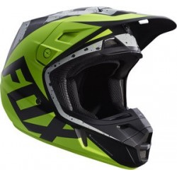 Casque Fox V2 Nirv Grey Yellow