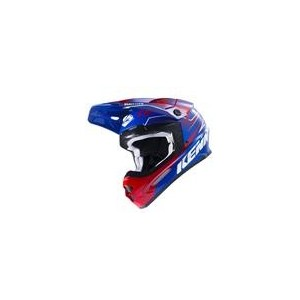 Casque Kenny Track Blue Red 2017