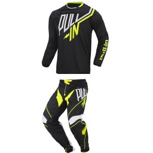 Tenue Pull-in Challenger Black Yellow