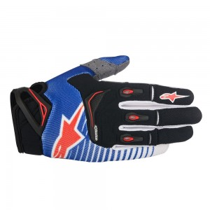 Gants ALPINESTARS Techstar Blue Black