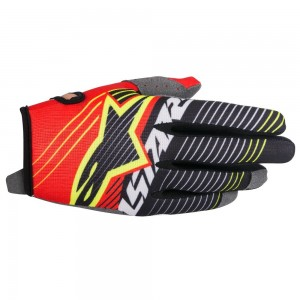 Gants ALPINESTARS 2017 Radar Red Yellow