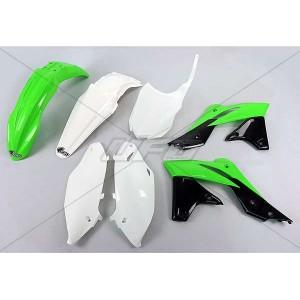 Kit plastiques 250 KXF 13/15 vert Fluo