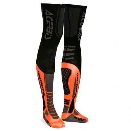 Chaussettes Acerbis Mx x Leg - Orange/Black