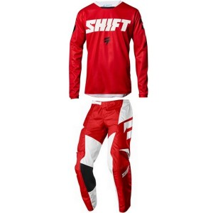 Tenue Shift Whit3 Label Red 2018