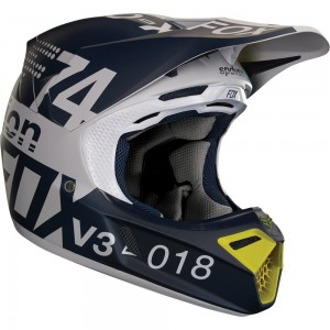 Casque Fox V3 Draftr 2018