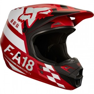 Casque Fox V1 Halyn 2018