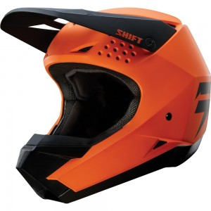 Casque Shift White Label Orange2018