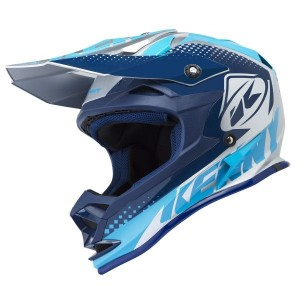 Casque Kenny Performance Silver Blue 2018