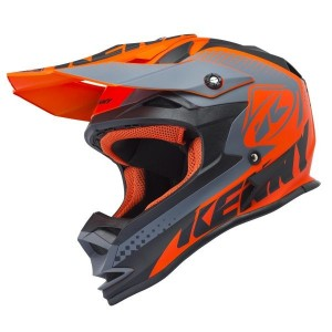 casque kenny performance kid orange mat 2018
