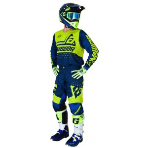 Tenue Answer Elite bleu et jaune 2019