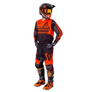 Tenue Answer Elite orange et noir 2019