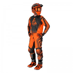 Tenue Answer syncron orange et noir enfant 2019