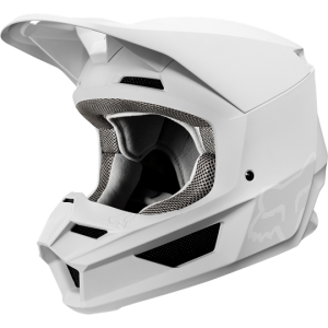 Casque Fox V1 Mata Blanc 2019