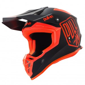 Casque Pull in Solid noir et orange 2019