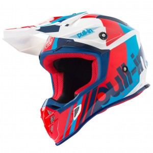 Casque Pull in Solid bleu blanc rouge 2019