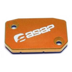 Couvercle-maitre-cylindre-de-frein-Alu-Orange-SX-SXF-ASAP