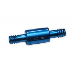 Clapet anti-retour ASAP bleu pour tube de réservoir