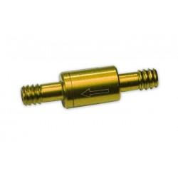 Clapet anti-retour ASAP or pour tube de réservoir
