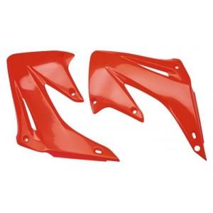 Ouïes-de-radiateur-125-CR-89-250-CR-88/89-rouge-orange-90