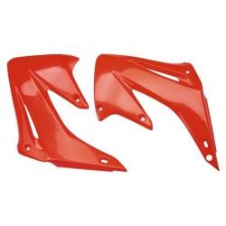 Ouïes de radiateur 125 CR 93/94-250 CR 92/94 rouge fluo 92/99