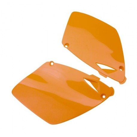 Plaques-latérales--orange-125-525-SX-98-03-250-400-98-02